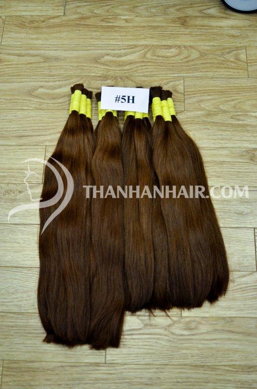 Mua Natural weaved hair.