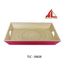 Lacquer bamboo tray