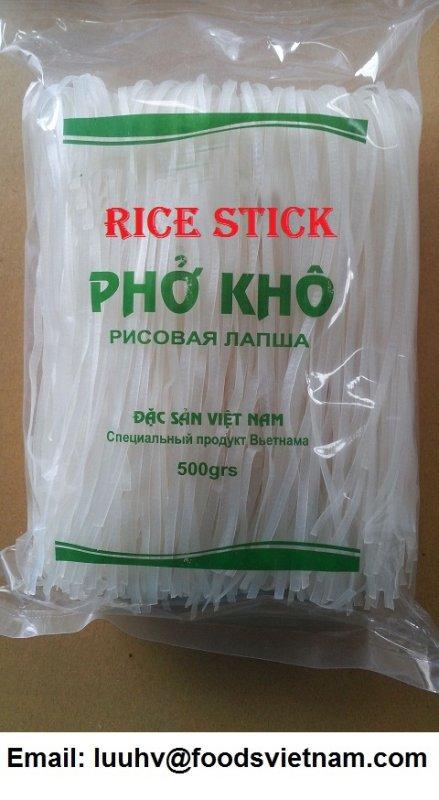 Mua Rice stick, rice noodles, rice vermicelli, bun kho, pho kho