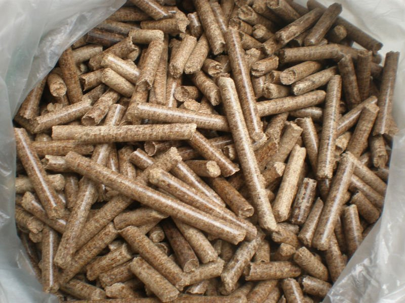 Wood Pellet for Fuel Burning