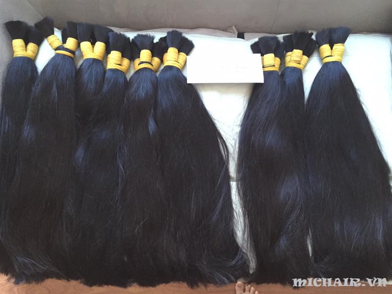 Ideal black human hair grade 7A traight Vietnamese virgin human hair