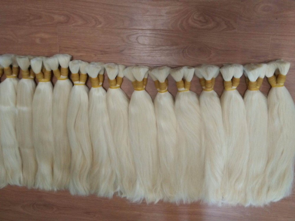 TOP GRADE 7A 613 BLOND HAIR