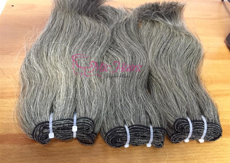 Mua Grey Weft Human Hair