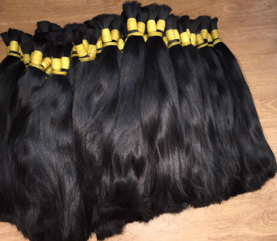 NO TANGLE NO SHEDDING STRAIGHT BULK HAIR