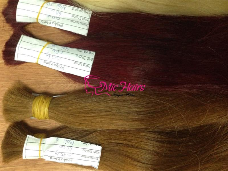 VIETNAMESE COLOR DOUBLE DRAWN HAIR