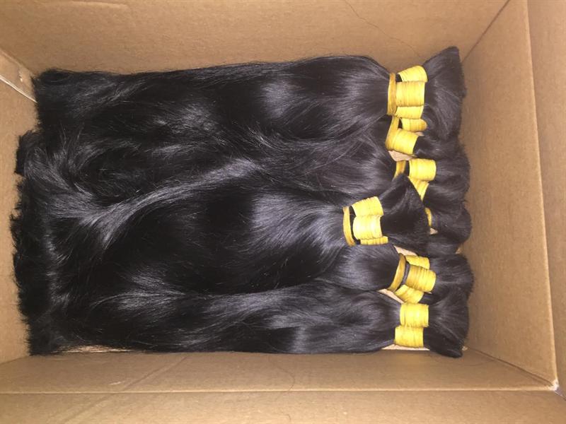 Virgin hair in bulk