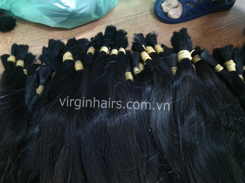 Smooth and natural human hair