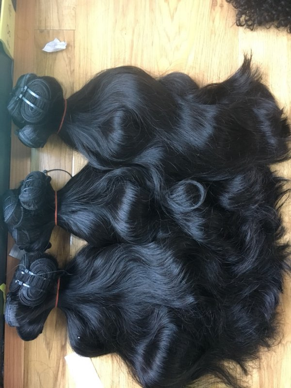 CAMBODIA NATURAL WAVY TOP HIGH QUALITY