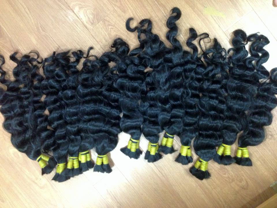 Mua WAVY HAIR WITH TOP QUALITY BIG EXPORTER
