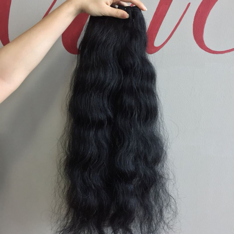 CAMBODIA NATURAL WAVY HAIR WITH QUALITY