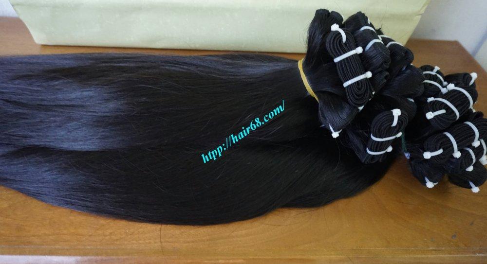"Mua Sell weave hair black single 16"" Straight high quality"