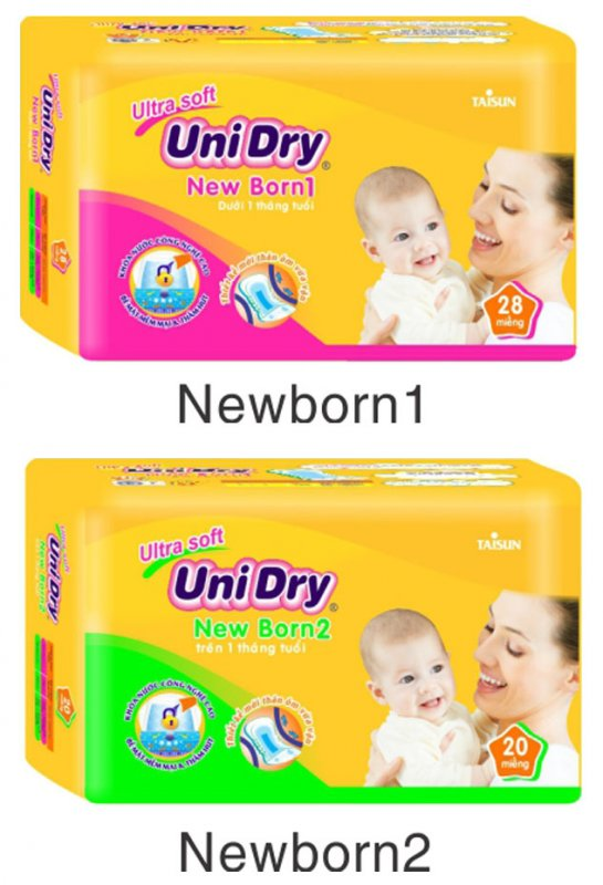 Nappies for newborns