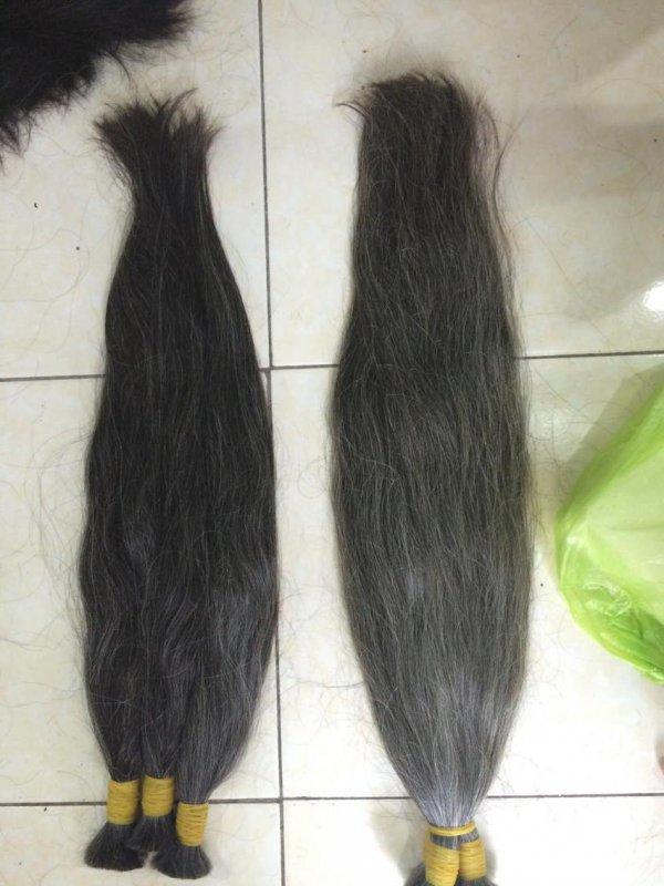 Mua 100% Grey Human Hair