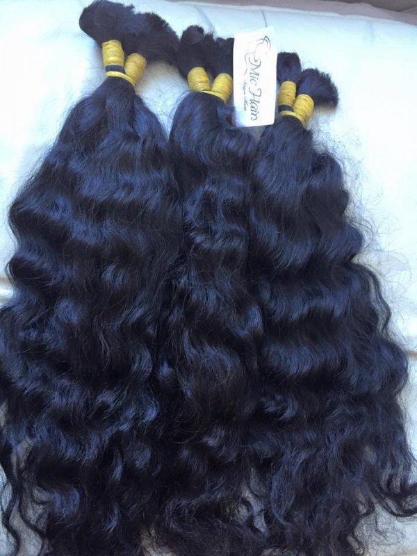 Mua WAVY/CURLY BULK HUMAN HAIR