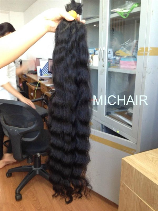 Mua Water wavy 100% human hair weft