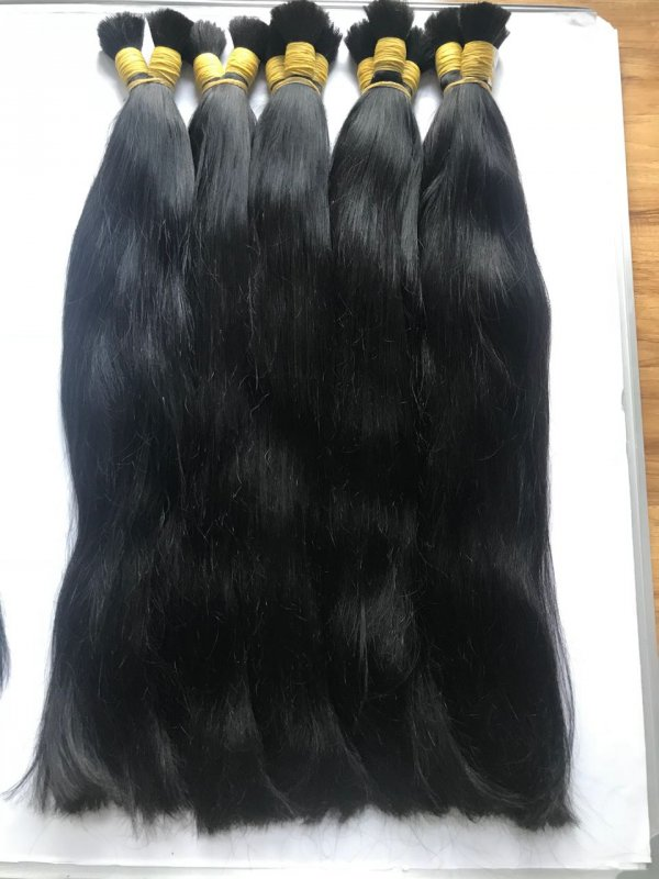 Mua Double drawn human hair 70cm