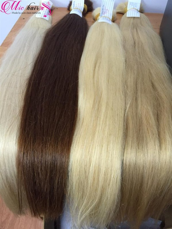 Colored human hair high quality