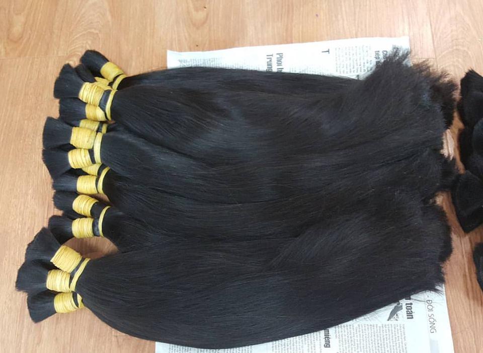 Mua Straight human hair from vietnam