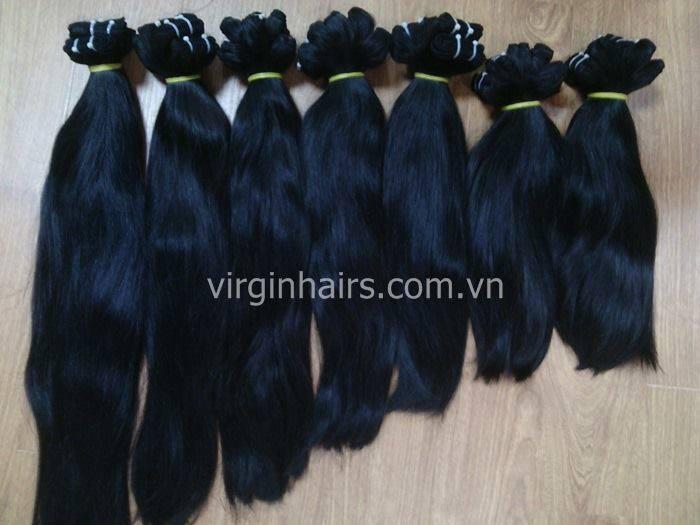 Mua Straight Vietnamese Hair hair extension shine and smoothy no tangle no sheeding