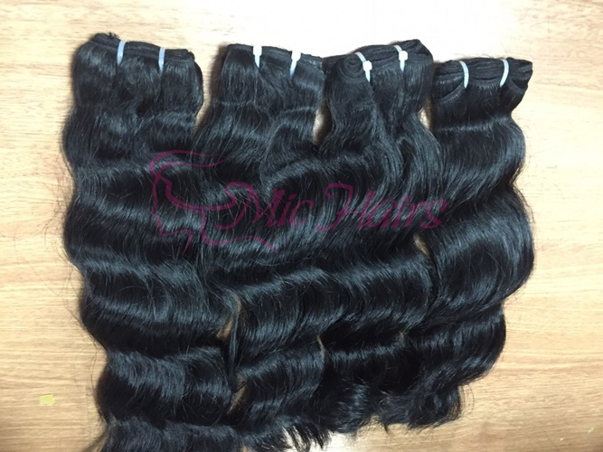 Mua Vietnamese wavy machine weft hair
