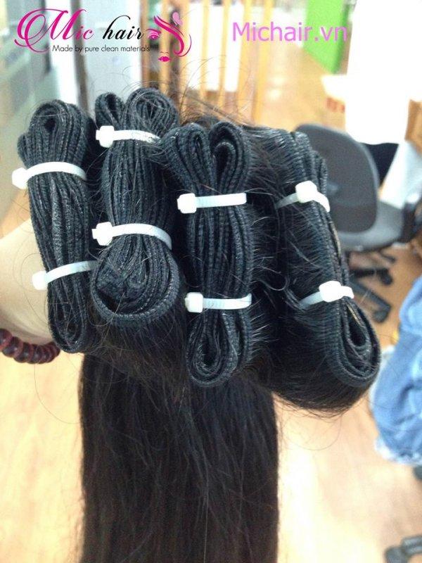 Mua Straight VIetnamese hair so smooth so shine hair extension