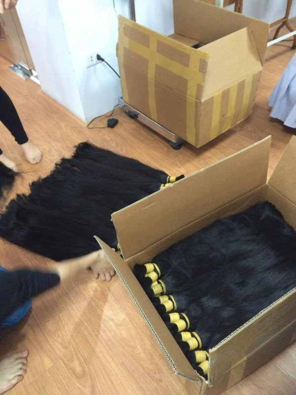 Mua Natural human hair with high quality