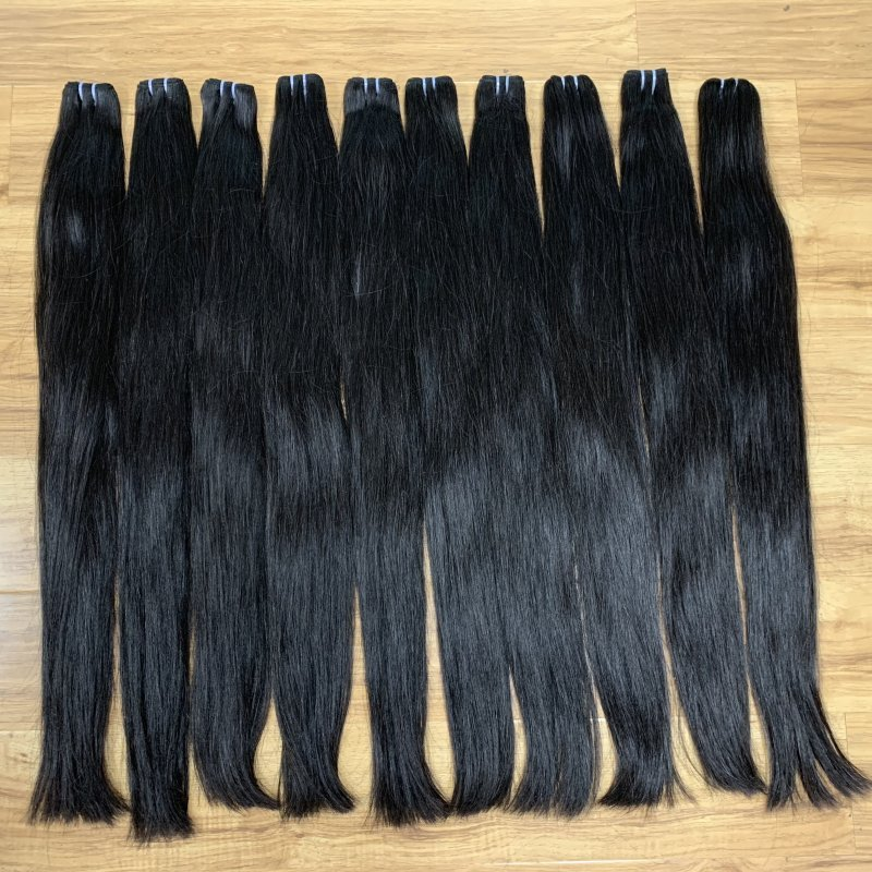 Buy Factory wholesales straight hair weft extension Vietnamese