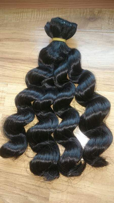 Buy BODY FOR HAIR EXPANSION Wavy 100% of human hair TOP COMPANY
