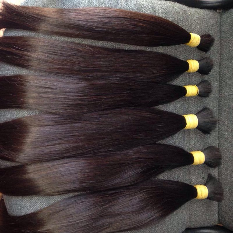 Buy Remy hair nutbrown hair straight hair of NO Ball