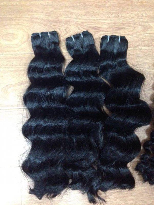 Mua LOOSE WAVY HUMAN MACHINE WEFT HAIR