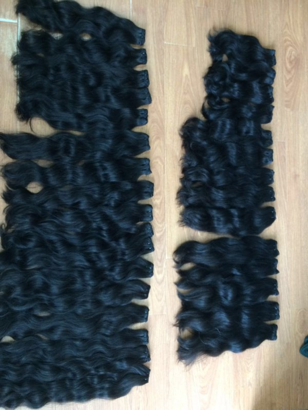 Mua DOUBLE DRAWN CURLY HAIR EXTENSION NO SHEDDING