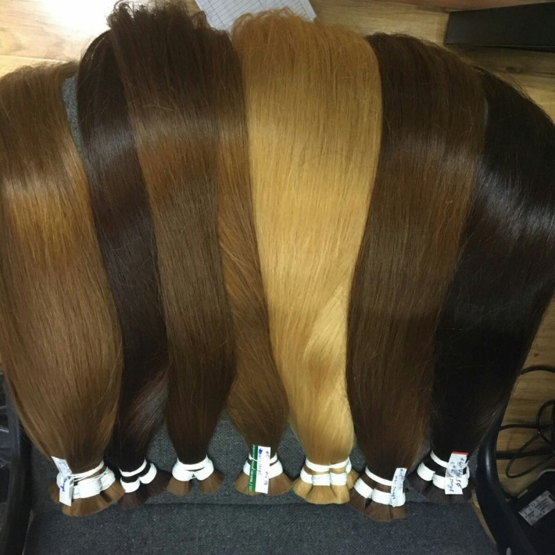 Mua Blonde human hair from Vietnam
