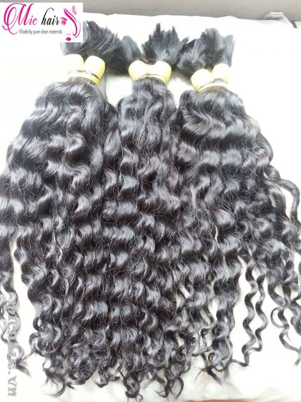 Mua Hot wholesale machine curly Vietnamese hair no tangle no sheeding