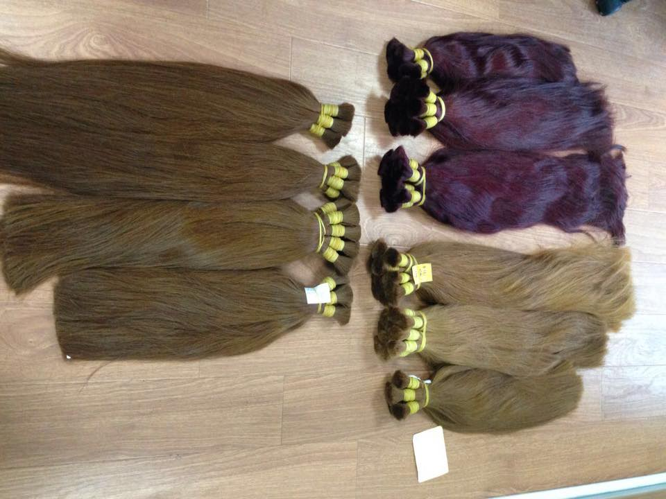 THE BEST COLOR HAIR 100% HUMAN HAIR NO TANGLE NO SHEDDING