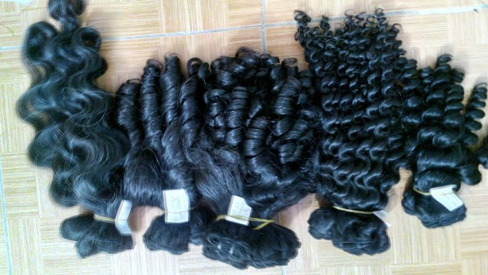 Mua Unprocessed Human Hair Wet and Wavy 3pcs/lot Brazilian Hair Extension