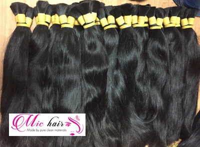 Mua Virgin remy natural color straight double Viet nam hair