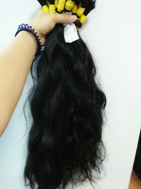 "Mua NATURAL CAMBODIA WAVY HAIR 12""- 26"""