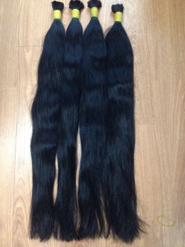 Mua SUPER DOUBLE DRAWN STRAIGHT BULK HAIR IN WHOLESALE
