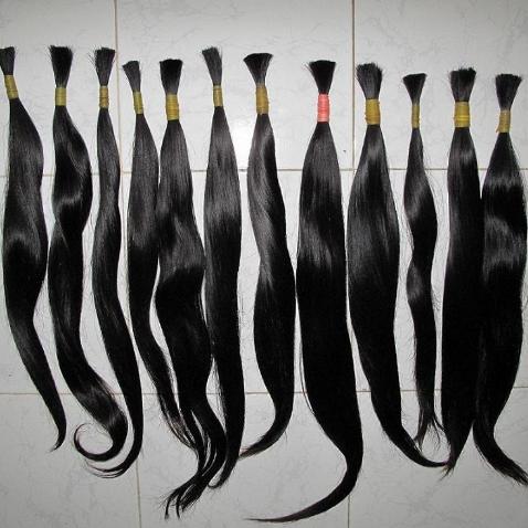 Mua Remy single drawn hair