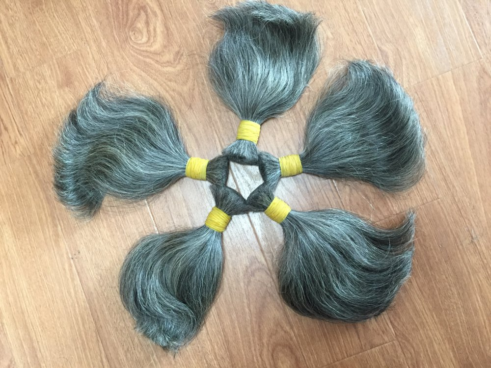 Mua Grey Human Hair