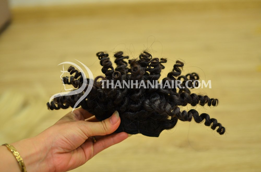 Many kind of hair from thanh an hair company..
