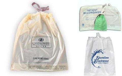 Mua Drawstring plastic bag - Drawtape plastic bag