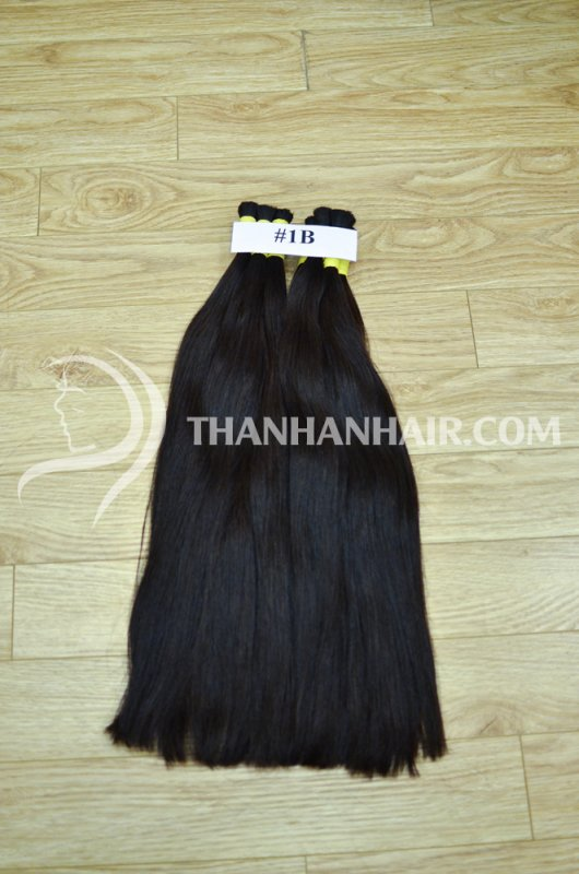 Mua Bulk black hair from Thanh an hair company