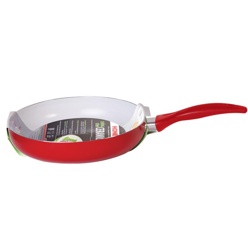 Mua Chảo Ceramic chịu nhiệt Honey's HO-AF1C222 size 22 màu đỏ