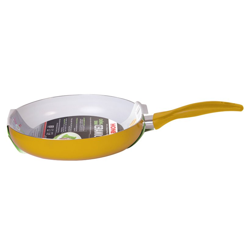 Mua Chảo Ceramic chịu nhiệt Honey's HO-AF1C222 size 22 màu vàng