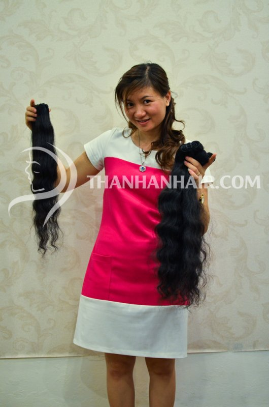 Mua Remy hair from Thanh an hair company