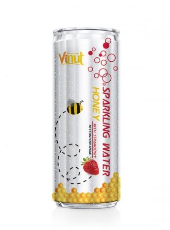Купить Газированная вода с клубничным Honey