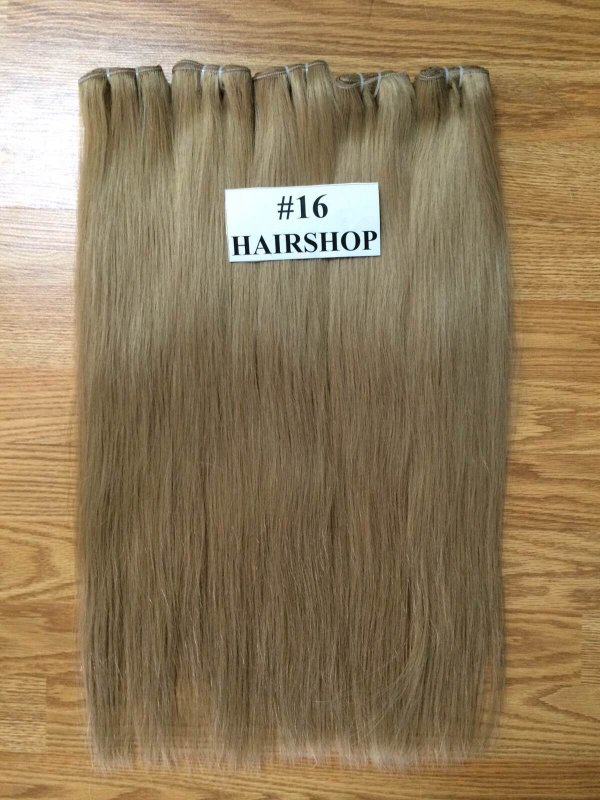 WEft hair from vietnamese woman color hair