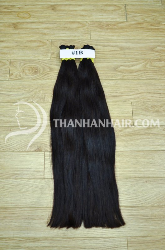Mua Vietnamese virgin double drawn straight bulk Hair 100% human raw Vietnamese hair