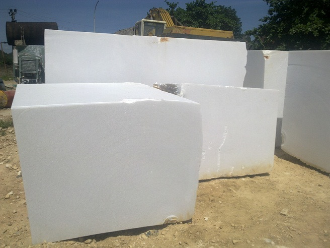Mua Pure Crystal White Marble Blocks